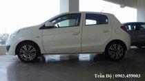 Bán Mitsubishi Mirage MT 2018, màu trắng, xe nhập
