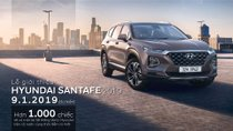 Chính thức: Hyundai Santa Fe thế hệ mới dự kiến ra mắt vào ngày 9/1/2019 với 2 tùy chọn động cơ