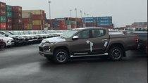 Mitsubishi Triton 2019 đã cập cảng Việt Nam, cận kề ngày ra mắt