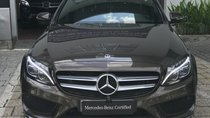 Bán xe Mercedes C300 AMG đời 2018, màu nâu, xe nhập