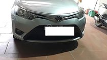 Bán ô tô Toyota Vios sản xuất 2017, màu bạc