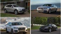 Xếp hạng những mẫu xe Audi tốt nhất trong năm 2018