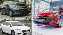 Hơn 10.000 xe sedan đến tay khách hàng Việt trong tháng 11/2018