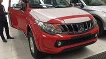Bán xe Mitsubishi Triton 4x2 MT năm sản xuất 2018, màu đỏ, xe nhập