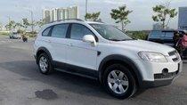 Cần bán gấp Chevrolet Captiva sản xuất 2009, màu trắng xe gia đình, 318tr