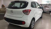 Hyundai I10 số sàn màu trắng xe giao ngay, giá KM hấp dẫn, hỗ trợ vay lãi suất ưu đãi. LH: 0903175312