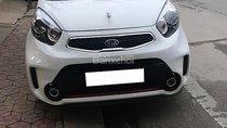 Cần bán lại xe Kia Morning Si AT sản xuất 2018, màu trắng