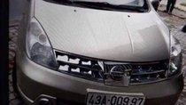 Bán xe Nissan Grand livina năm 2010, màu bạc còn mới, 420 triệu