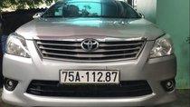 Bán xe Toyota Innova E đời 2012, màu bạc