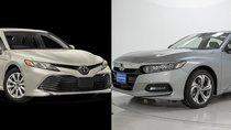 10 xe sedan an toàn nhất thị trường: Có Toyota Camry và Honda Accord
