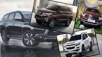 Toyota Fortuner tiếp tục đứng đầu phân khúc SUV cỡ trung tháng 11