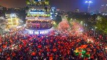 Điểm qua 20 tuyến đường sẽ bị cấm ở Hà Nội trong trận chung kết của đội tuyển Việt Nam