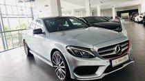 Siêu xe Mercedes C300 AMG chỉ đăng ký, chưa lăn bánh xuống đường. Giá 1 tỷ 860 triệu