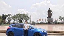 Cần bán xe Ford Focus Sport 1.5L đời 2017, màu xanh lam chính chủ, giá tốt