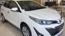 Bán Toyota Vios 1.5G CVT 2019, màu trắng, 606 triệu