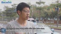 Đã xuất hiện xe taxi tự lái đầu tiên tại Quảng Châu Trung Quốc