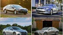 Những mẫu sedan tiết kiệm nhiên liệu nhất trong năm 2019