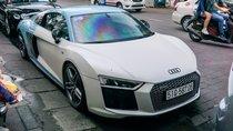 Bắt gặp Audi R8 V10 Plus màu độc của Cường Đô-la dạo phố Sài Gòn