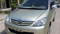 Cần bán xe Innova 2009 màu ghi vàng, dòng G, xe gia đình sử dụng, không chạy dịch vụ