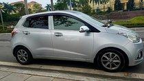 Cần bán xe Hyundai Grand i10 1.0 MT năm 2014, màu bạc, nhập khẩu nguyên chiếc xe gia đình, giá tốt