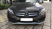 Bán Mercedes C300 AMG model 2018, bạc và nâu, ĐK 7/2018