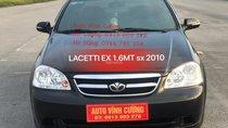 Bán Daewoo Lacetti 1.6MT đời 2010, màu đen