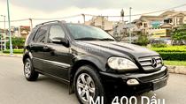 Mercedes ML400 nhập 2007 CDI máy dầu, 2 Turbo mạnh mẽ, ít hao 100km, 9 lít hàng