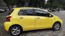 Bán Toyota Yaris 1.3AT đời 2008, màu vàng, nhập khẩu