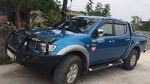 Cần bán gấp Mitsubishi Triton đời 2010, màu xanh lam, xe nhập