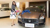 Ngắm xe sang Maserati Quattroporte GranLusso gần 8 tỷ đồng của Á hậu Thúy Vân