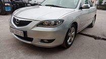 Cần bán gấp Mazda 3 đời 2004, màu bạc, xe còn nguyên bản, không đâm đụng hay ngập nước
