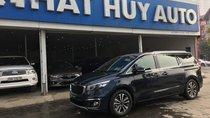 Nhất Huy Auto bán Kia Sedona máy dầu bản 2.2 2018, màu xanh, số tự động