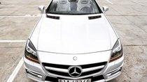 Cần bán gấp Mercedes SLK 350 sản xuất 2012, màu trắng, nhập khẩu chính chủ
