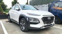 Bán Hyundai Kona 1.6 Turbo sản xuất năm 2018, màu trắng, giá tốt giao ngay