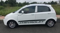 Bán Chevrolet Spark sản xuất năm 2008, màu trắng xe gia đình