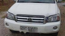 Bán xe Toyota Highlander đời 2005, màu trắng, 350 triệu