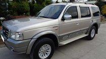 Đổi xe bán Ford Everest 2006 màu bạc, số sàn, xe đi kỹ đẹp