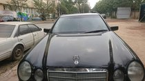 Bán Mercedes E230 đời 1996, màu đen, nhập khẩu