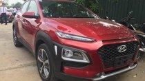 Bán ô tô Hyundai Kona 2018, màu đỏ - Hỗ trợ mua xe trả góp, lãi suất ưu đãi, xe sẵn giao ngay, đủ màu