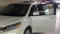 Cần bán gấp Toyota Sienna 3.5 AT đời 2015, màu trắng