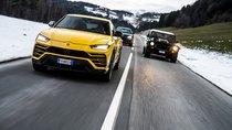 Siêu SUV Lamborghini Urus 'mừng công' bằng chuyến phượt quanh nước Ý