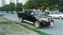 Bán Toyota Hilux 3.0 đời 2010, màu đen, nhập khẩu Thái Lan