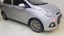 Bán xe Hyundai Grand i10 1.0 MT đời 2014, màu bạc, nhập khẩu