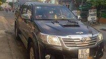 Bán Toyota Hilux 2012, màu đen, nhập khẩu