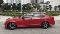 Cần bán Mercedes C300 AMG năm 2014, màu đỏ, giá tốt