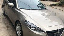 Cần bán lại xe Mazda 3 đời 2016, màu vàng như mới