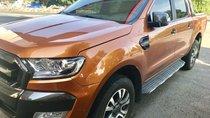 Bán ô tô Ford Ranger Wildtrak đời 2017, màu cam, nhập khẩu nguyên chiếc