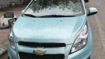 Cần bán lại xe Chevrolet Spark sản xuất 2017, màu xanh lam xe gia đình