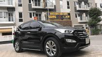 Bán xe Hyundai Santa Fe đời 2015 màu đen full dầu