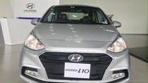 Hyundai Grand I10 2 đầu màu bạc, đưa trước 125tr nhận xe ngay